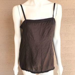 Eileen Fisher 100% Silk Cami Shirt Tee Sleeveless